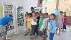 Les élèves d'Atitu exposent leur voyage