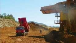 Un stock de minerai de 20 000 tonnes va rejoindre le bord de mer.