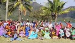 Soixante-dix personnes ont été conviées le jeudi 24 janvier à un repas offert par la commune de Kouaoua.