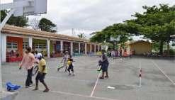 L'école, une aire de jeu