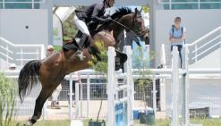 La belle entente entre Thibaut Damas et Ouessant de Karenga les a portés vers un titre de champions territoriaux en catégorie Pro 2.