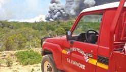 Un deuxième incendie déclaré  dans la région de Poum