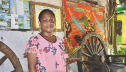« Depuis juin, l'accueil de la clientèle a beaucoup progressé à Poingam »