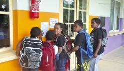 L'école du village de Ouégoa reprend son cours normal