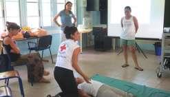 Les premiers secours à bonne école avec la Croix-Rouge