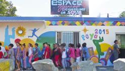 L'espace numérique connecte les habitants de Poya