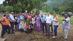 Les habitants d'Arémo  ont enfin de l'eau au robinet