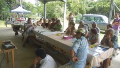 Les descendants d'Okinawa sous les projecteurs