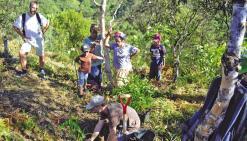 Deux mille plants mis en terre à la tribu de Gohapin