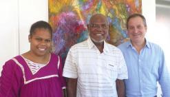Initiative NC reçoit Maurice Ponga