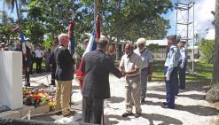 A la mémoire des gendarmes tués en 1988