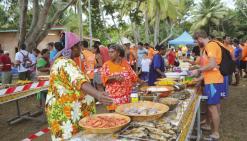 500 raideurs reçus comme des rois à la tribu de Gatope