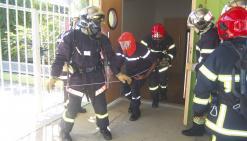 Les nouvelles recrues formées  à la lutte contre les incendies