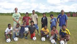 Une classe foot au collège de La Roche