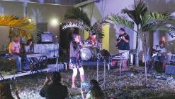 Les apprentis  musiciens en scène