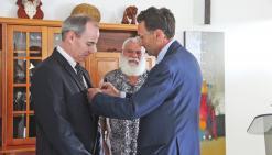 La Légion d'honneur pour Michel Sallenave