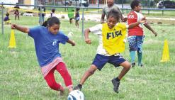 Jeunes sportifs et supporters à l'heure des Jeux intertribus
