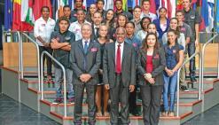 Des lycéens calédoniens au Parlement européen