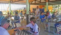 Le trophée d'échecs réussit sa troisième manche