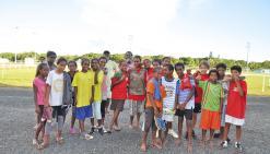 Le collège de Taremen rafle la mise au cross de district