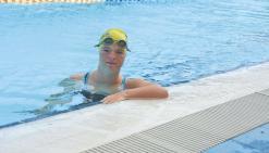 Delphine André, en route pour les Trisome Games en Italie