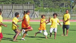 Les 16es jeux intertribus rassemblent les jeunes sportifs au stade Yoshida