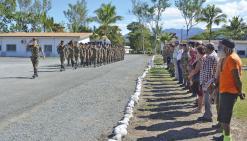 Les militaires réinvestissent le camp de Nandaï
