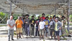 Douze jeunes s'initient aux métiers du bâtiment