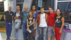 Nouméa, le 12 juillet. Les bénévoles de Sea Shepherd ont présenté leurs activités en Calédonie.