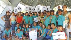 Écoliers et collégiens réunis  autour de la francophonie
