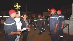 Des sapeurs-pompiers méritants  mis à l'honneur le 14-Juillet