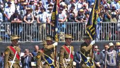 Hommage aux soldats tombés en France