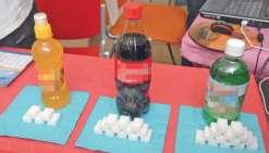 Le véritable poids du sucre dans les jus de fruits et sodas
