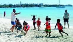 Le rugby a transformé l'essai à Kunié