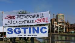 Piquet de grève à la SLN, le SGTINC demande à la direction de « clarifier ses intentions »