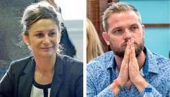 Nina Julié et Nicolas Metzdorf disent reprendre leur liberté par fidélité à leurs valeurs. Photo : Thierry Perron