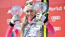 Lindsey manquera le début de la saison de ski alpin