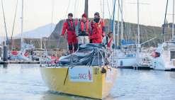 La fin d'une régate intense pour les marins de la Groupama Race
