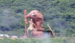 Le plus grand tiki du Fenua à Nuku Hiva