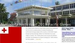 Jeux du Pacifique : Une dernière chance pour Tonga 2019