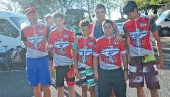 Les jeunes cyclistes en stage pendant le Tour