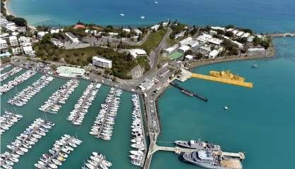 Un nouveau quai pour la base navale Chaleix