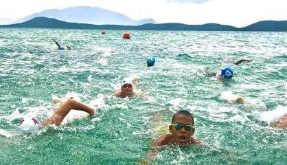 Aqua bouge en mer ce matin à la côte Blanche