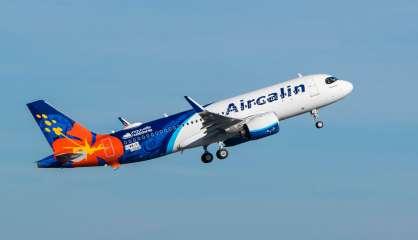 Premier vol pour l'A320neo d'Aircalin à Toulouse