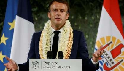 Macron reconnaît