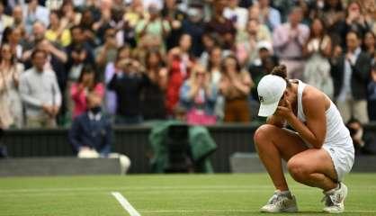 Wimbledon: Ashleigh Barty remporte son deuxième titre du Grand Chelem