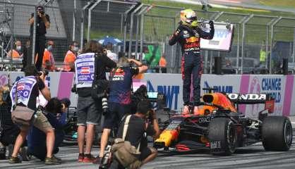 GP d'Autriche: Verstappen remporte son 3e Grand Prix d'affilée
