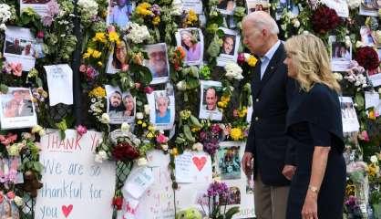 Immeuble effondré: Biden en Floride pour réconforter les familles et louer l'unité nationale