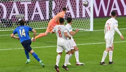 Euro - Demi-finales: l'Italie et l'Espagne en prolongation (1-1)