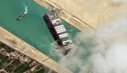 L'Egypte va relâcher le navire géant qui avait bloqué le canal de Suez